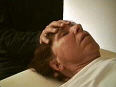 Craniosacral Balancing at the frontal bone